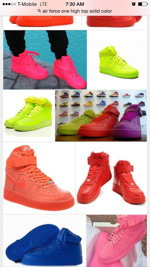 reputable site b8e3a e53a6 There is 1 tip to buy shoes, color pack, nike, red, nike air force 1, solid  color, pink, blue, purple, yellow.