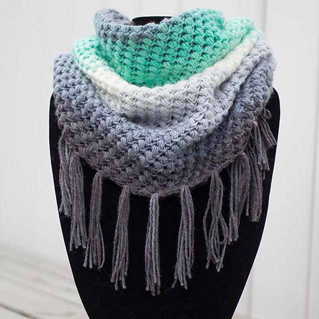 Ravelry: Spring Bean Cowl pattern by Rebecca Langford