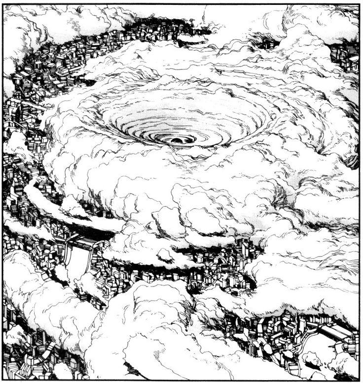 Destruction of Neo-Tokyo, CE 2019, Katsuhiro Otomo