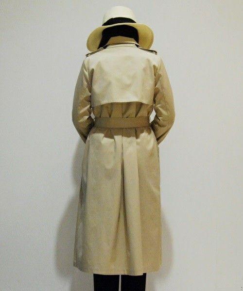 ESTNATION WOMEN(ウィメン)のESTNATION ロングトレンチコート(トレンチコート)|詳細画像