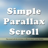 Parallax scrolling is an interesting technique, where, as you scroll, the background images translate slower than the content in the foreground, creating the illusion of 3D depth. As I planned to...
