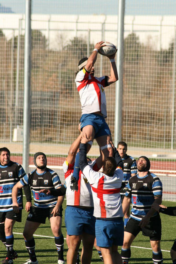 Partit Sant Cugat vs. Rugby Barcelona