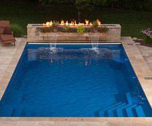 12 Best Inground Pool Designs Images On Pinterest Inground Pool Designs Fiberglass Pools And