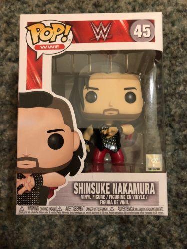 Funko Pop Wwe Shinsuke Nakamura Toys R Us Exclusive Finn Balor