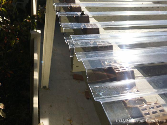 Installing A Clear Pergola Roof Outdoor Pergola Pergola Canopy Pergola Patio