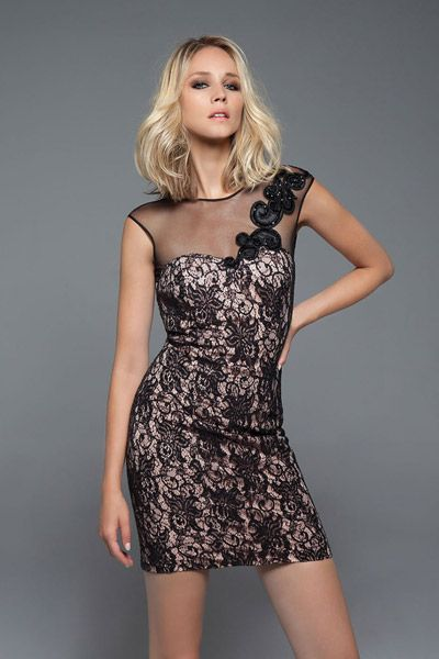 F/W 2014-15 Collection | Forel Collection_ Lace dress