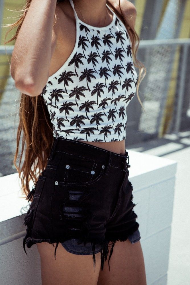 25+ Best Ideas About High Waisted Shorts On Pinterest | High Waisted Shorts Outfit Outfits For ...