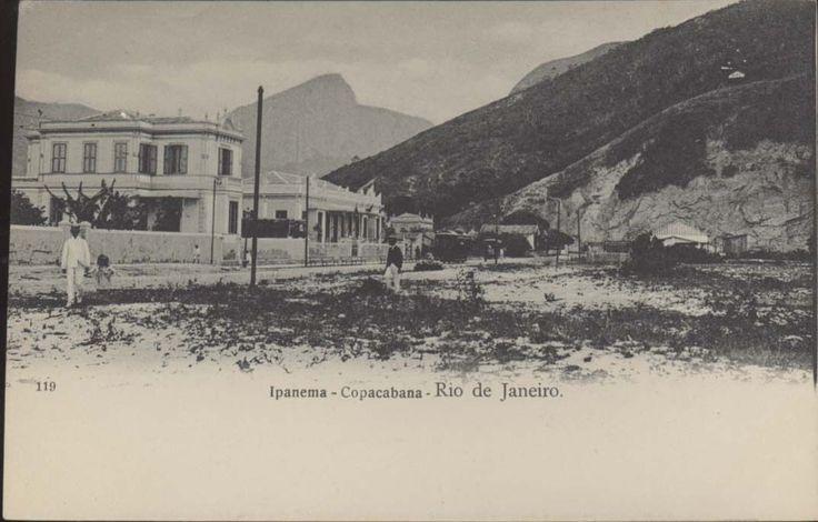 Brazil Rio de Janeiro Ipanema Copacabana N°119 Ed Leon de Rennes | eBay