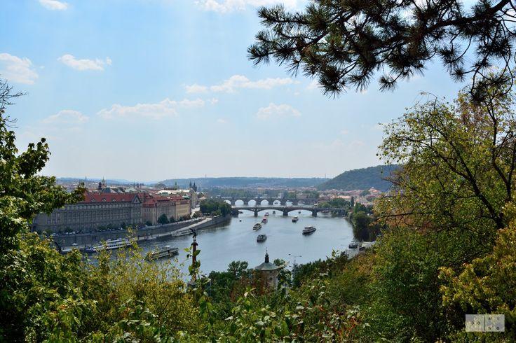 Treading the cobbled streets - Prague