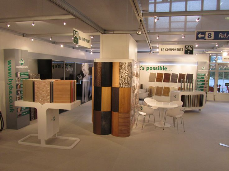 Show stand by BA Components October 2011 #kitchens #doors