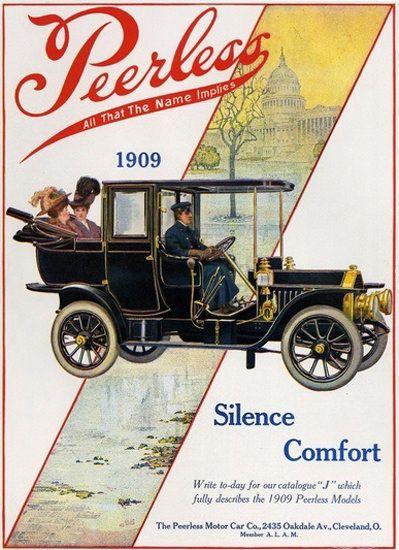 Peerless Automobile 1909 Cleveland Ohio