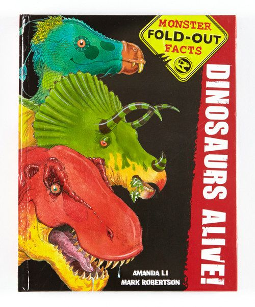 Take a look at the Dinosaurs Alive! Monster Fold-Out Facts Hardcover on #zulily today!