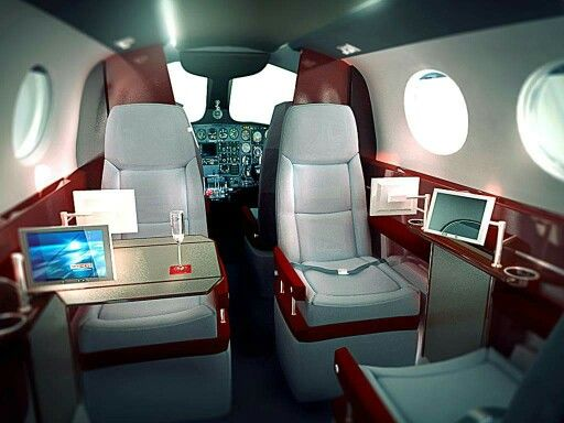 Cessna 420 interior