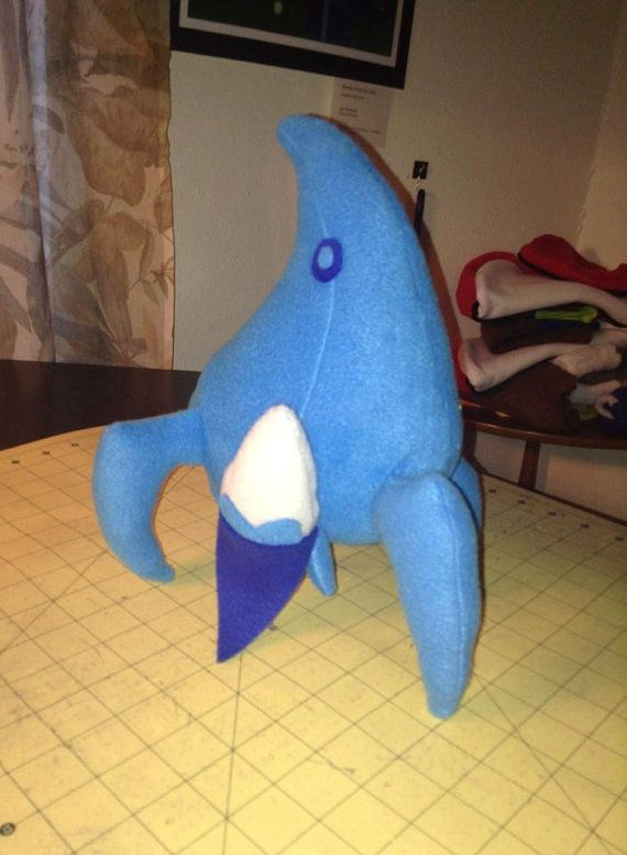 StarCraft Plush Stalker ANY color Protoss  by AzzysUniquePlushies