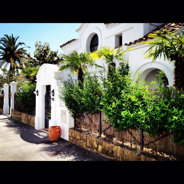 Beautiful villa at Marbella Beach Club Hotel in Spain.