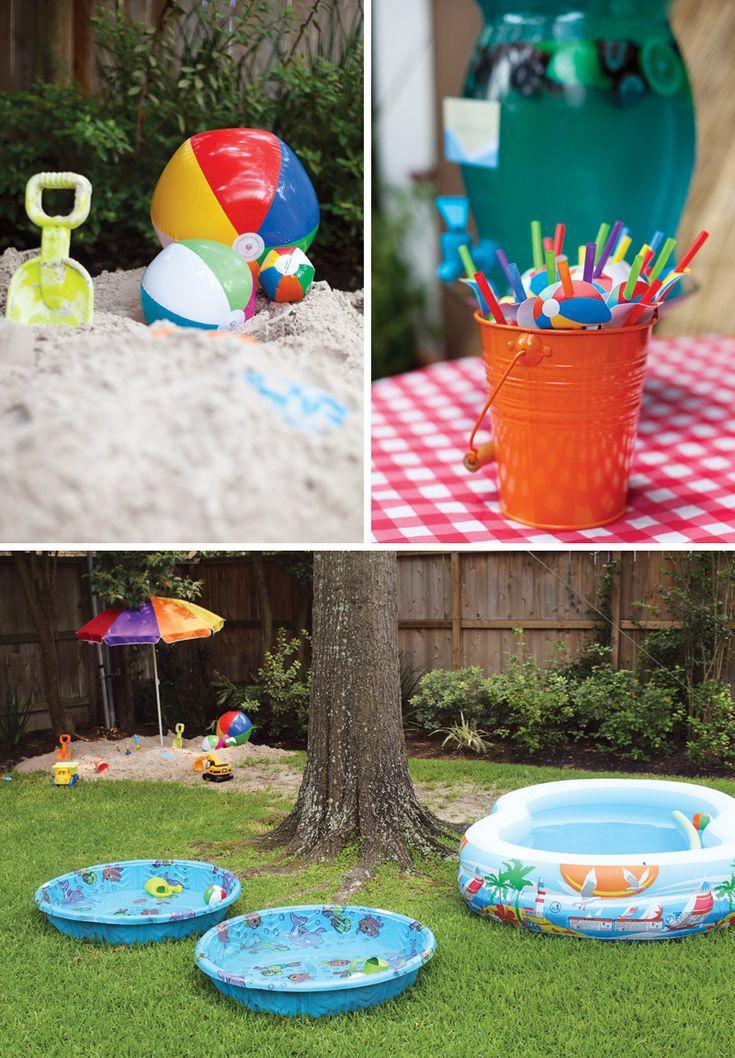 {Splish Splash} Twin's Beach Bash Birthday Party
