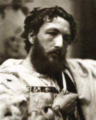 British painter Frederic Leighton. Photo by David Wilkie Wynfield