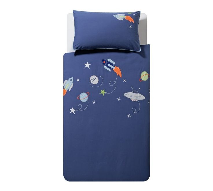 Buy Argos Home Space Bedding Set - Toddler | Nursery ...