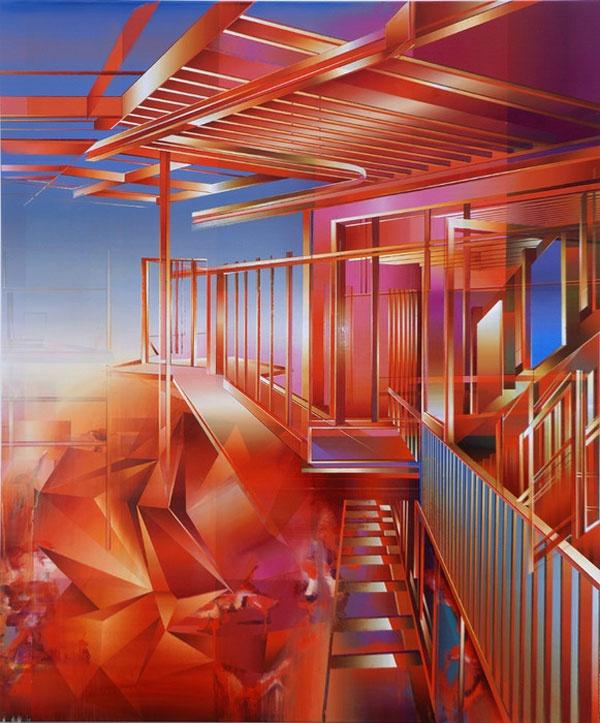 Paintings by Martin Kobe