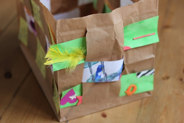 paper bag crafts easy paper bag weaving easy craft and vbs 2016 2606