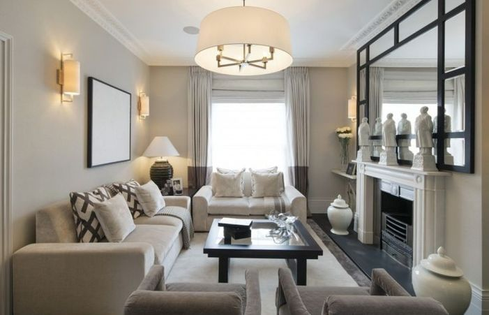 Image Result For How To Decorate Rectangle Shaped Living Room Rectangle Living Room Rectangular Living Rooms Small Living Room Layout