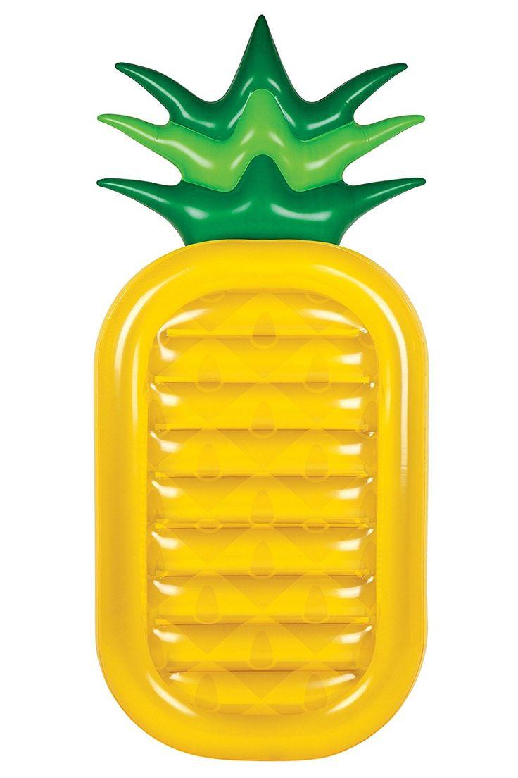 Shop // Riesige aufblasbarer Ananas Luftmatratze. Für den Pool, das Meer oder als Unterlage für den Strand.