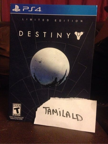 Limited edition ps4 Destiny