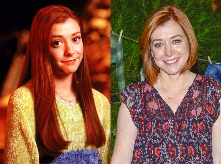 Alyson Hannigan from Buffy the Vampire Slayer: Where Are They Now?  Alyson is probably just as famous for her role as Buffy's Willow Rosenberg as she is for her role as Lily Aldrin on another long-running series, How I Met Your Mother. And who could forget her role in theAmerican Piemovies? After Buffy wrapped its seven seasons, she married co-star Alexis Denisof (known in the Buffyverse as Wesley Wyndam-Pryce) in 2003 and worked on HIMYM until the show wrapped up in 2014. She appeared as…