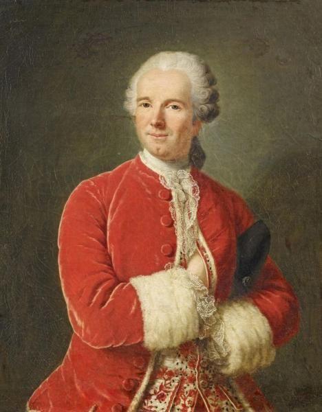 Portrait de Monsieur de Fontaine, 1750 école française