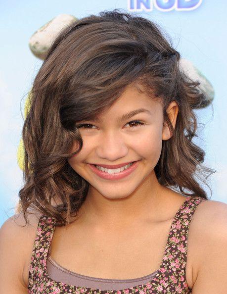 Zendaya Coleman Medium Curls with Bangs: Kids Easy Hairstyles For Girls, Medium Length, Hair Styles, Cute Girls Hairstyles, Short Hairstyles, Girl Hairstyles, Medium Hairstyles, Cute Hairstyles, Hairstyles For Short Hair