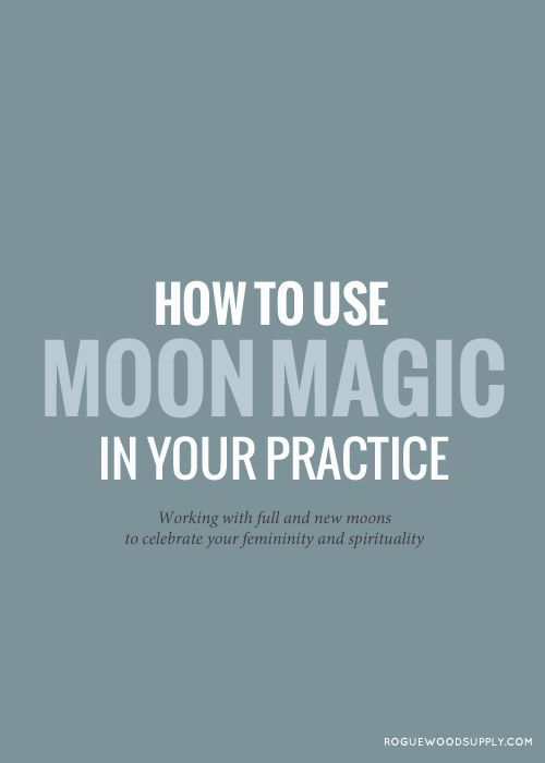 The moon cycle is a great way to keep yourself mindful while working on developing more spiritual intention and understanding within your life. Here are ten tips to harnessing moon magic for your fullest potential | Rogue Wood Supply