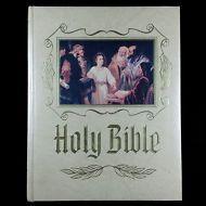 1988 King James Version Holy Bible, Heirloom Genealogy Red Letter Edition, KJV