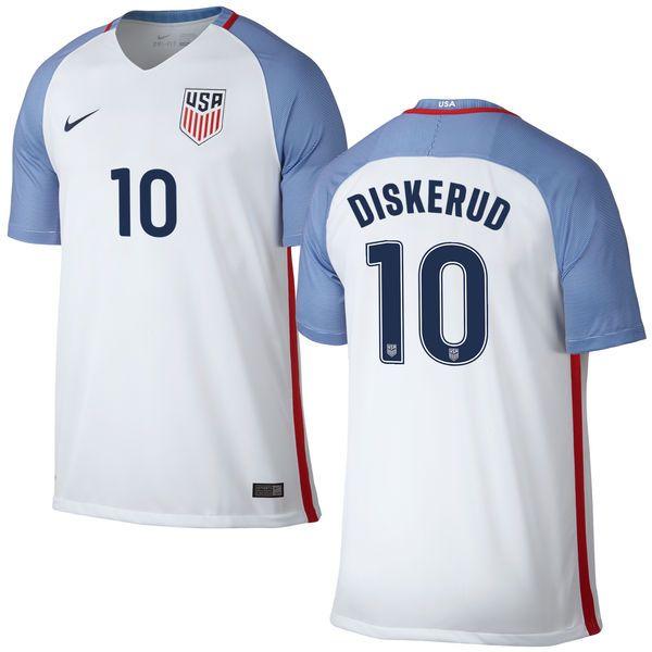 16ec51f5c ... denmark national team white home replica jersey nike graham zusi us  soccer red mix diskerud us