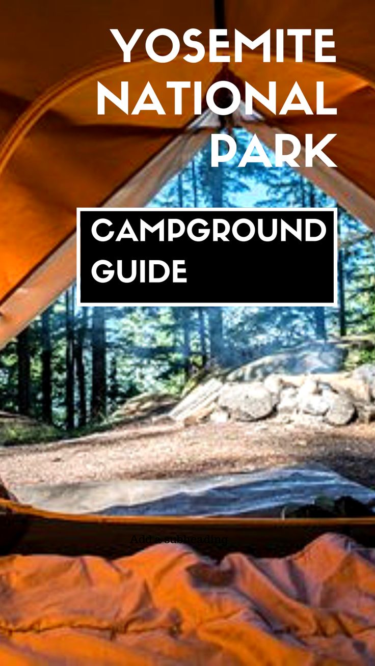 Campgrounds in Yosemite National Park