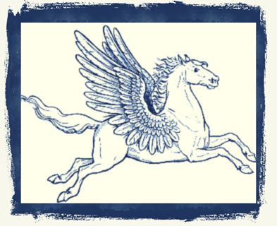 Pegasus | Pigasos, het gevleugelde paard | Griekse mythologie