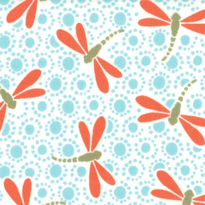 Dragonfly pattern fabric - Kate Spain: Patterns Fabrics, Fashion, Fortune Dragonfly, Dragonfly Tranquil, Color, Quilts, Dragon Flying, Kate Spain, Aqua
