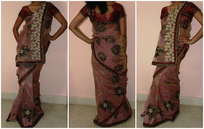 Options for future Indian functions -- 8 sari drape styles