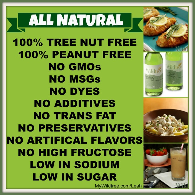 Did you NO that Wildtree products are all natural?     I love wildtree!! I've replaced most of my household ingredients!
