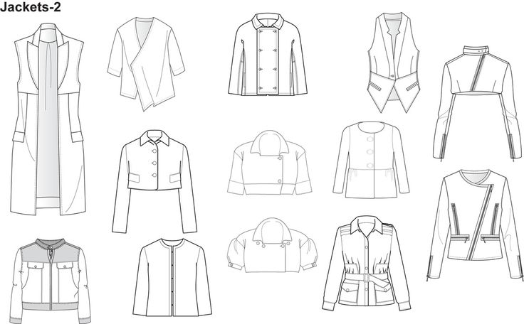 Illustrator Fashion Templates for Men Garment by Nadia