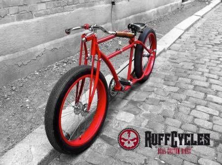 Cadres de vélo custom, beach, cruiser Ruff Cycles, - Matériel de sport pas cher d'occasion Pleugueneuc - 35720 avec Vivastreet