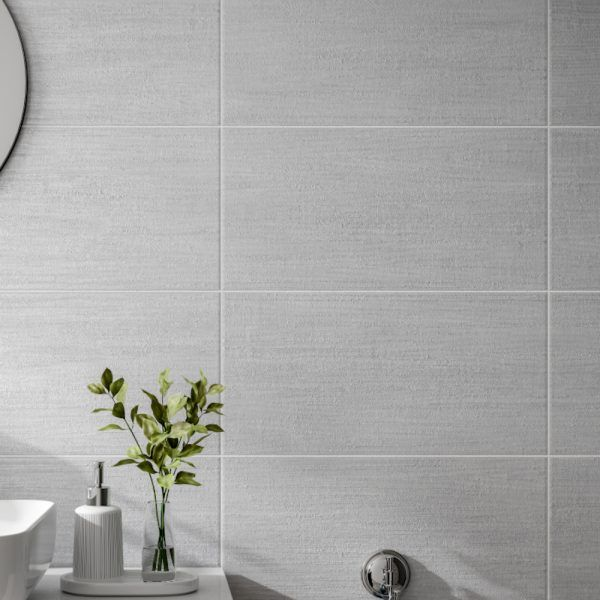 Barbados Grey Wall Bathroom Tiles 250 X 500mm Per Box In 2020