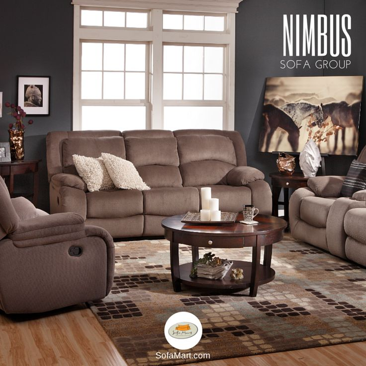 Exceptionnel The Nimbus Sofa Group In Neutral Pairs Perfectly With Cornell Coffee Table,  Column Floor Lamp