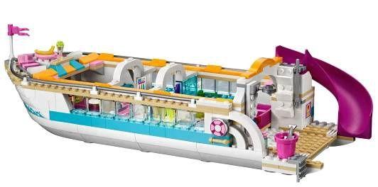 LEGO Friends 41015 Výletní loď za delfíny | LEGENIO - Lego - geniální zábava!