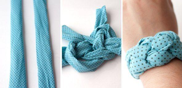 Jak zrobić bransoletkę z t-shirtu? | http://dekoeko.com/jak-zrobic-bransoletke-z-t-shirtu/ | Czytaj więcej na www.dekoeko.com