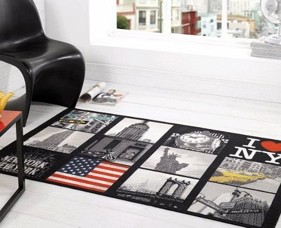 Flair Rugs Matrix Big Apple Multi New York City Rugs Modern Retro Funky Vibrant Versatile American Bedroom Loun The Matrix collection is a fun, fashionable rug. Made from 100% washable nylon, with a non-slip latex backing ideal for high traffic areas.<br /> This multi big app (Barcode EAN = 5031193432380) http://www.comparestoreprices.co.uk/carpets-and-rugs/flair-rugs-matrix-big-apple-multi-new-york-city-rugs-modern-retro-funky-vibrant-versatile-american-bedroom-loun.asp
