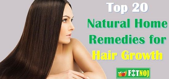 Natural Home Remedies for Hair Growth – Top 20 Effective Hair Regrowth remedies