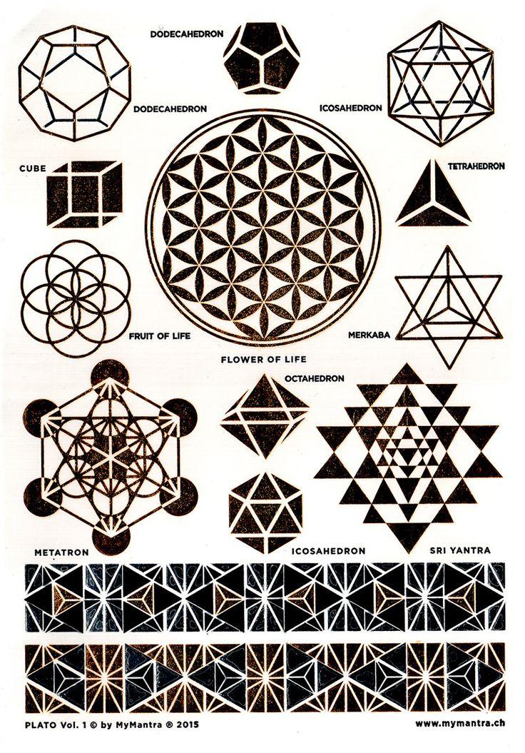 sacred geometry - tattoo ideas
