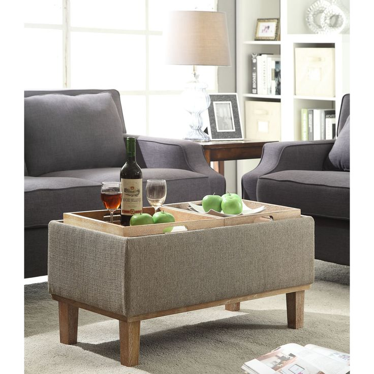 Good Darren Upholstered Storage Ottoman · Baby SafeCoffee TablesOttomans