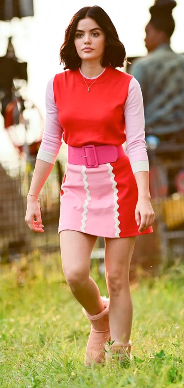 We Have Heart Eyes After Seeing The Fashion On The Cw S Katy Keene Red Skirt Outfits Fashion Fashion Tv