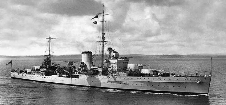 HMS Exeter was a York-class heavy cruiser of the British Royal Navy.